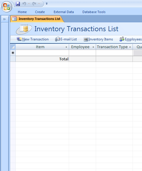 Access 2007 inventory database microsoft access for Inventory management template access 2007